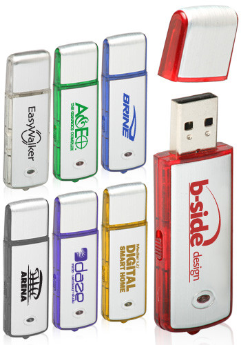 8GB Standard Colored Flash Drives | USB0428GB