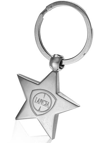 Metal Star Keychains
