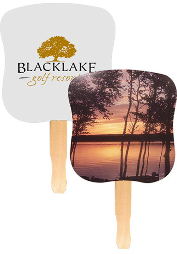 Stock Hand Fans - Sunset | AK33007