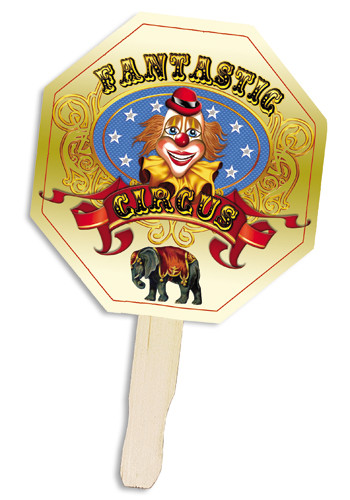 Stop Sign Shape Hand Fans | AK8033014