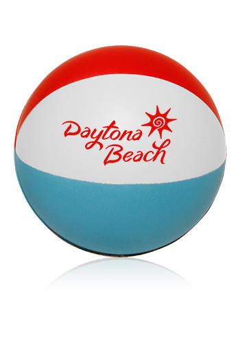 Custom beach ball stress balls stress016 discountmugs