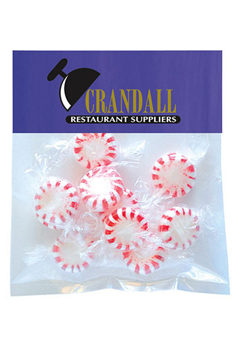 Striped Pepper Mints in Small Header Packs | MGBH2SPM