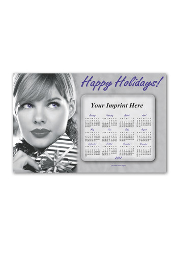 Promotional SuperSeal Greeting Card w/ Magnetic Calendar B Magnets