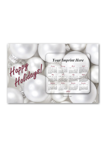 SuperSeal Greeting Card w/ Magnetic Calendar G Magnets