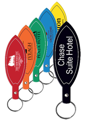Custom Surfboard Flexible Key Tags With Logo