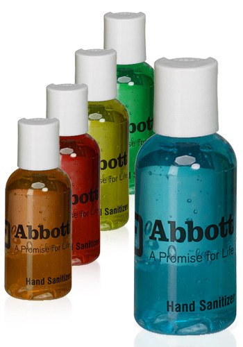 Personalized Unscented 2oz Hand Sanitizers