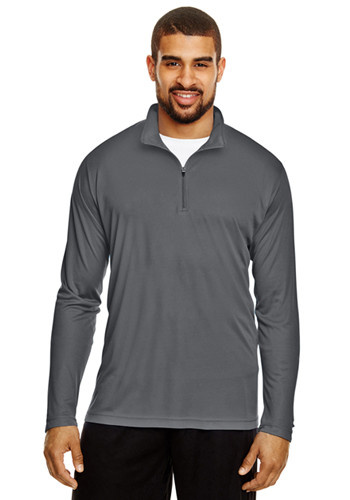 Team 365 Mens Zone Performance Quarter Zip Shirts   TT31