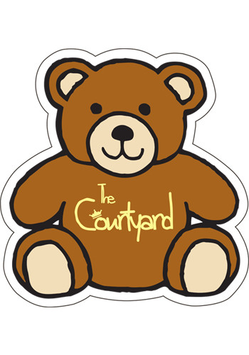 Customized Teddy Bear 2.88in x 2.75in Magnets