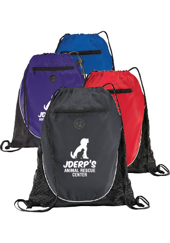 The Peek Drawstring Cin. Backpacks | SM7350