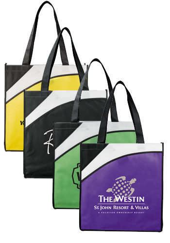 Promotional Runway Convention Tote Bags