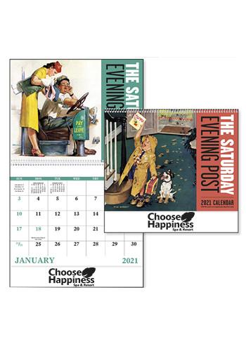 The Saturday Evening Post - Spiral Calendars | X30184