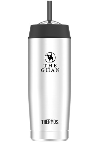 16 oz. Thermos Cold Cups with Straw | GL80175