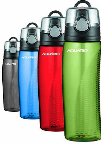 24 Oz Thermos Hydration Plastic Bottles With Meters Gl80087