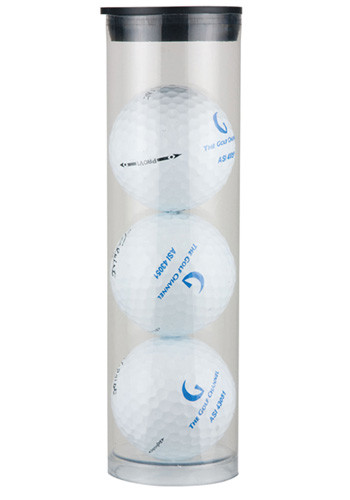 Wolesale Promotional Three Ball Premium Golf Gift Sleeves