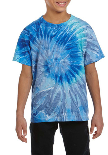 Tie-Dye Youth Cotton Tie-Dyed T-Shirts | CD100Y