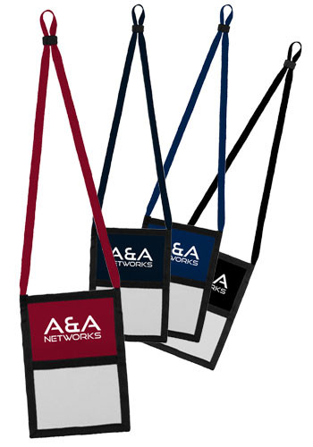 Trade Show Organizer with Cotton Straps