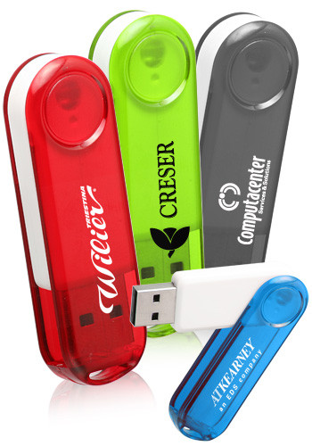 Plastic Flash Drives