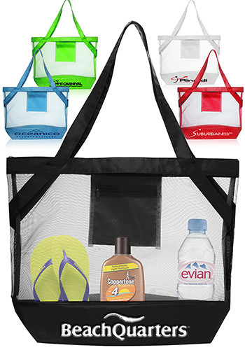 TOT32 - Transparent Beach Tote Bags