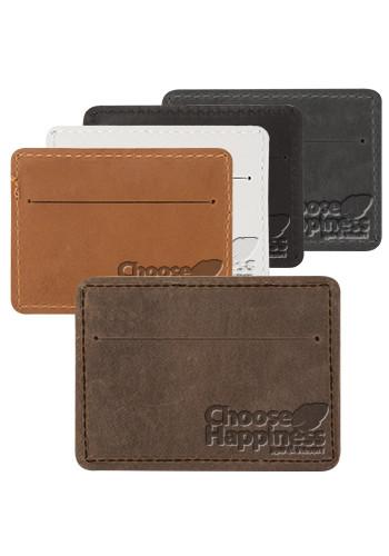 Traverse Leather Slater Single Pocket Wallets   SUTSLATER