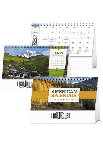 Triumph American Splendor Desk Calendars | X11584