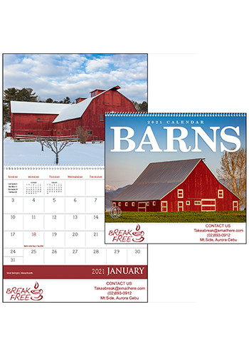 Custom Triumph Barns Calendars