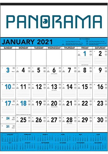 Triumph Blue & Black Contractors Calendars | X11363