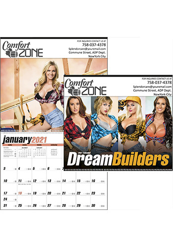 Triumph Dream Builders Calendars | X11479