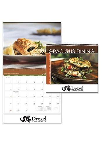Custom Triumph Gracious Dining Calendars X11270