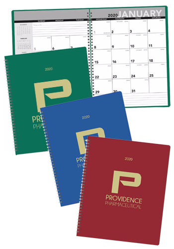 Wholesale Triumph Leatherette Monthly Planners