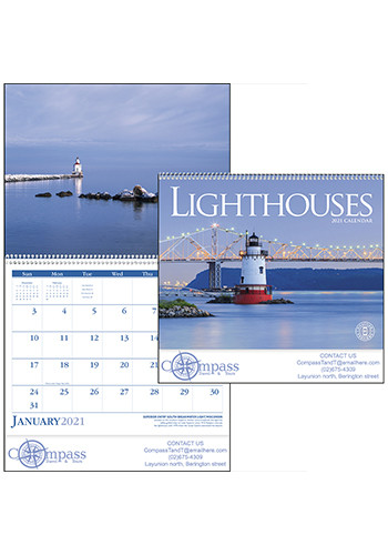 Triumph Lighthouses Calendars | X11301