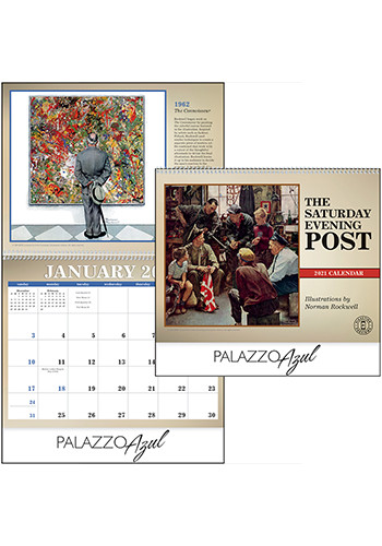 Triumph The Saturday Evening Post Calendars | X11256