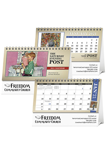Triumph The Saturday Evening Post Desk Calendars | X11583