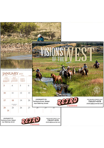 Triumph Visions of the West Calendars | X11353