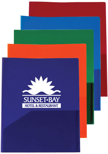 Customized Twin Pocket Presentation Folders