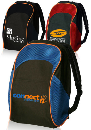 Custom Two Tone School Backpacks