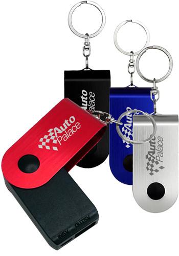 UL Swivel Power Bank Keychains | ASCPP4482