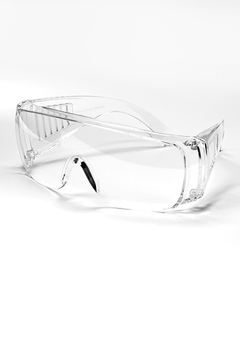 Personalized Union Scratch Resistant Safety Glasses