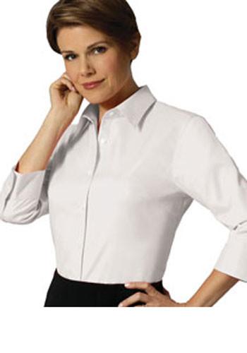 Van Heusen Custom Printed Promotional Ladies 3 4 Sleeve