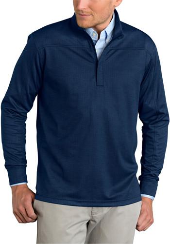 Vansport Pro Herringbone Quarter Zip Pullovers | VA3420