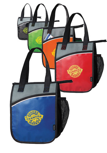 KOOZIE Vertical Laminated Lunch Kooler Bags | X10631