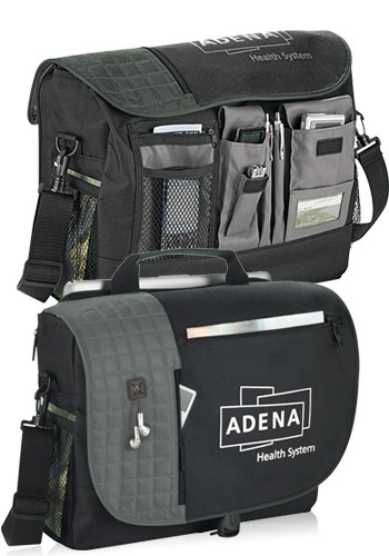 Promotional Verve Checkpoint-Friendly Compu-Messenger Bags