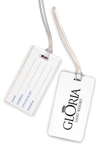 Customized Vibra Luggage Tags