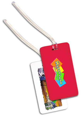Vibra Luggage Tags with PVC Loop | AK8029510