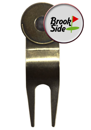 Bulk Vibraprint Econo Golf Repair Tool with Ball Markers In Gold