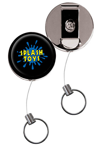 Vibraprint Heavy Duty Badge Reels with Belt Clip | SIEXPRESSSBR40