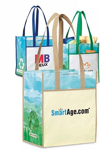 Vita Laminated Recycled Shopper Bags | GL1697