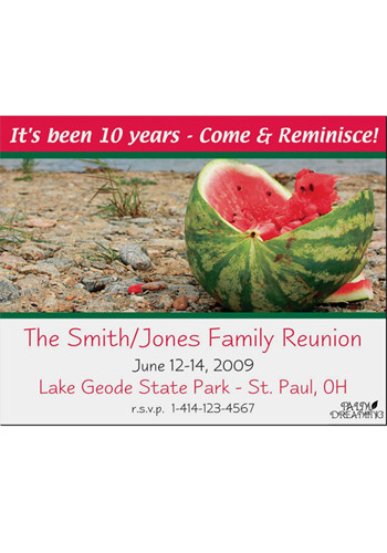 Watermelon Save the Date Magnets | MGS217UU