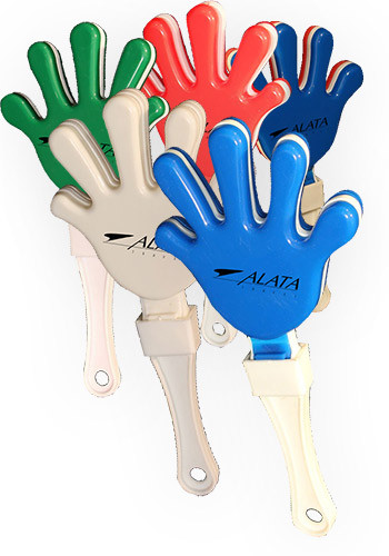 #WCMUS0 Personalized Color Hand Clappers