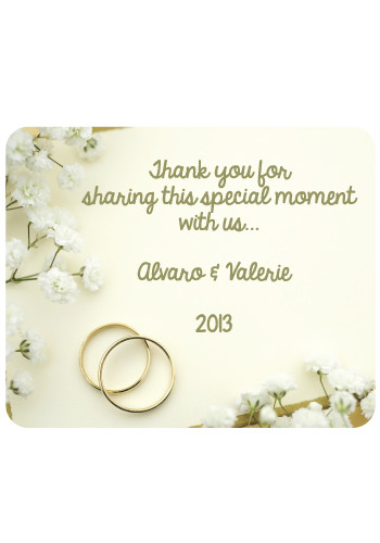 Wedding Ring Mouse Pads | MPD26