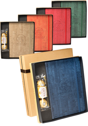 Casablanca Journals & Ferrero Rocher Chocolates Gift Sets | PLLG9427